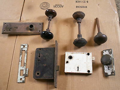 vintage door nobs and hardware