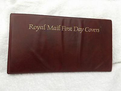 Royal Mail 2 Ring First Day Cover Stamp Album With 20 Pages