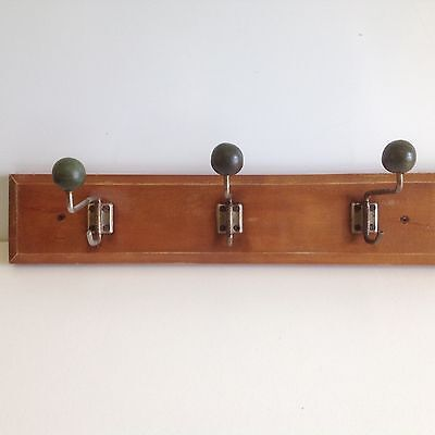 vintage coat rack  industrial shabby chic rustic • CAD $70.83