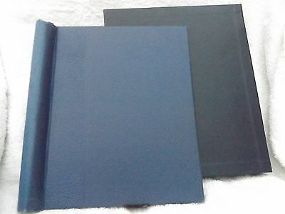 Blue Springback Stamp Album Complete With Slipcase Empty