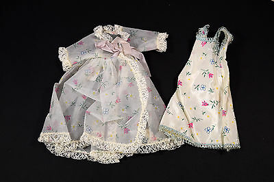 Vintage Tagged Fashions for Ginger Cosmopolitan Doll Robe and Nightgown