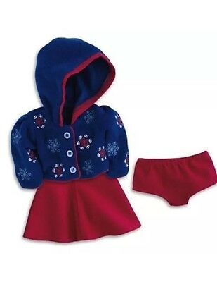 Nib American Girl Molly's Skating Outfit Retired All New