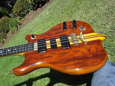 1978 Alembic Series 1  4 String Bass Guitar with DS-5 Power Supply