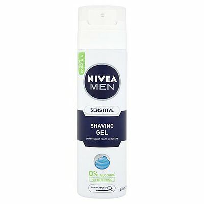 Nivea Men Sensitive Shaving Gel New Formula 200ml