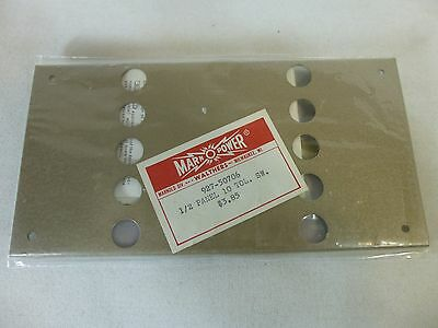 Marn O Power Walthers 1/2 Panel 10 Toggle Switch Plate 927-50706 Model Train NOS