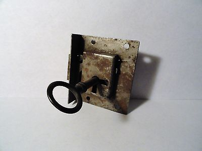 Vintage Lock with Skeleton Key Set - Working