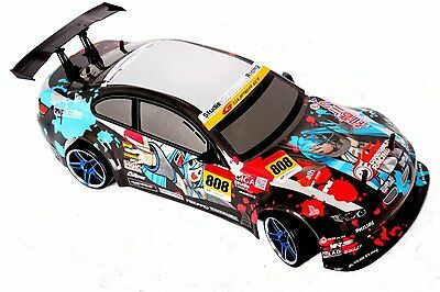 New Himoto 1:10 Scale Brushless Drift Remote Control Car BMW M3 4123BL RC