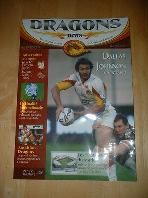 2010 Catalans Dragons V Hull Fc & Salford City Reds - Rugby Super League