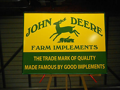 John Deere Lighted Sign