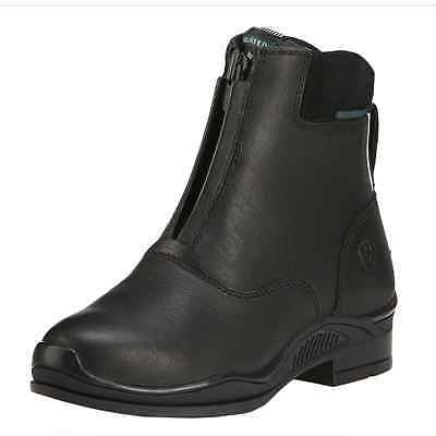 Ariat Youth Extreme Zip H20 Insulated Paddock Boots - Black: Childs 4