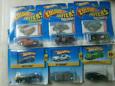 Hot Wheels Colour Shifters NEW