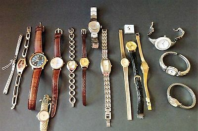 Huge Lot of Vintage Watches - Caravelle, Hamilton, Cornavin, More