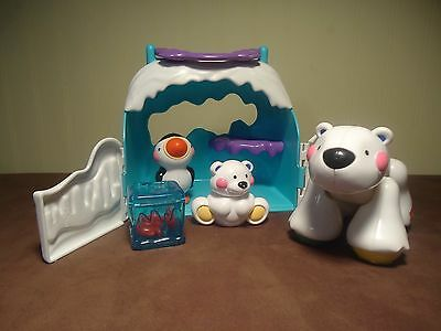 Fisher Price Amazing Animals Polar Bear & Friends Tote