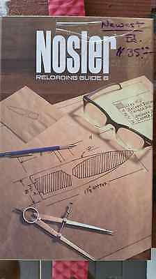 Newest 8th Edition Nosler Reloading Guide Manual Handbook MINT In Plastic Shoot
