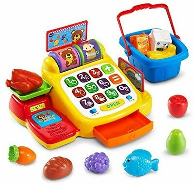 VTech Ring And Learn Cash Register Play Toy GIft Kids Educational Store Pretend