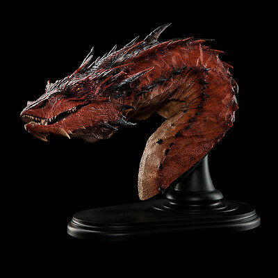 WETA NIB * Smaug the Terrible Bust * Hobbit Lord of the Rings Statue Figurine