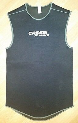 Cressi Diving Vest / Wetsuit, Size 4, 3.5mm thickness