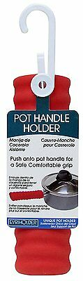 Evriholder Silicone Pot Pan Handle Saucepan Holder Slip Cover- Colors May Vary