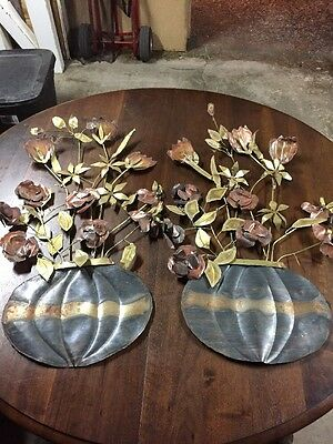 Copper Planted Plants Decorations