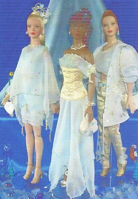 """3 diffrent outfitsPattern  fits 16"""" Fashion doll Tyler Gene Tonner"""