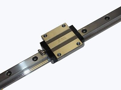 Linear Guide - Recirculating Ball Bearing Guide - hrc15-fn-s (Track + Wagon)