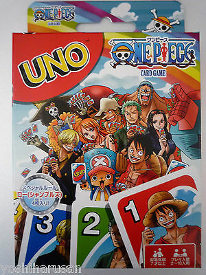 UNO Playing Cards Game Japanese Anime ONE PIECE from Japan Ensky