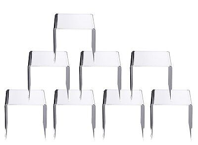 Jusalpha® Clear Acrylic Riser Stand Lot of 8
