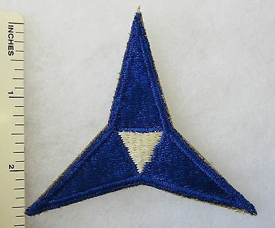 WW2 3rd US ARMY CORPS PATCH Cut Edge ORIGINAL Vintage INSIGNIA