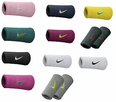 Nike Football Tennis Badminton Sports Swoosh Doublewide Wristband