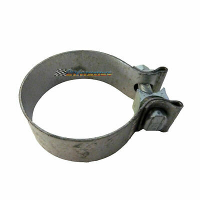 "2.5"" 63Mm Exhaust Muffler Clamp Mild Steel Acuseal Single Bolt 21/2 2 1/2"