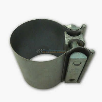 "2.5"" 63Mm Wide Band Butt Exhaust Muffler Clamp Mild Steel 21/2 2 1/2"