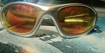 earsocks for oakley straight jacket 6ysj  OAKLEY STRAIGHT JACKET POLISHED ALUMINUM FIRE IRIDIUM Sunglasses RARE