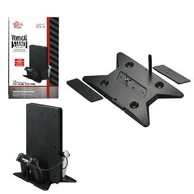 Universal 2-in-1 Vertical Holding Stand Cradle Holder for PS4 Pro & PS4 Slim