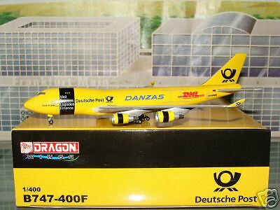 Dragon Wings Danzas DHL Deutsche Post B747 - 400F 1/400 **Free S&H**