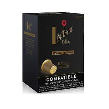 Vittoria Mountain Grown Coffee Capsules (For use with Nespresso machines)
