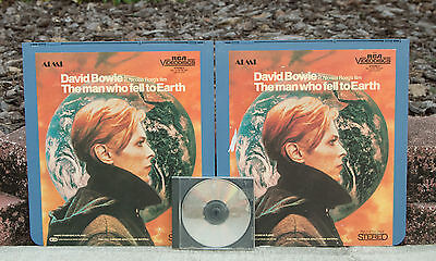 Rare ¥ David Bowie  ¥ The man who fell to Earth ¥ CED Videodisc RCA Part 1 & 2