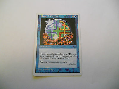 1x MTG Energy Flux-Flusso di Energia Magic EDH 5th Quinta ed Base ITA Italiano