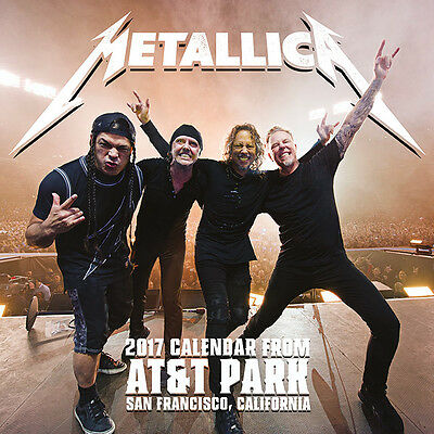 Metallica - Official 2017 Calendar C15028