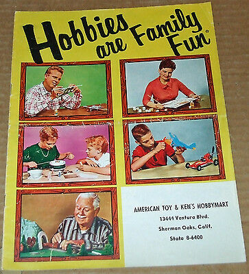 1959 Hobbies are Family Fun Catalog for all Toys & Hobby Merchandise 14 Pgs