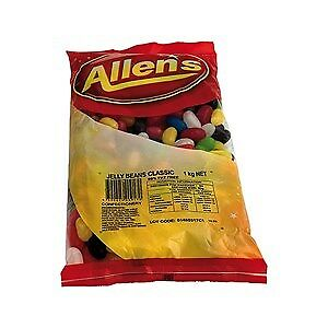 Allens Jelly Beans - 1 kg x 1 Bags
