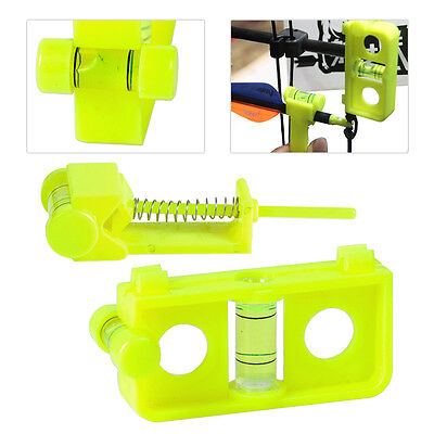 Bow and Arrow String Snap Spirit Level Vial Bubble Combo Compound  Hunting
