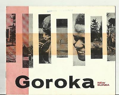 PNG PAPUA NEW GUINEA SOUVENIR BOOKLET  ~ GOROKA EASTERN HIGHLANDS (1960s)