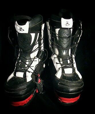 Hyperlite Byerly Wakeboard Boots with Onset Bindings Black Carbon Size XL 12 14