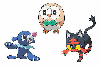 All Starter Pokemon, Guardians and Ultra Beasts | 6IV | Sun & Moon Trade Guide