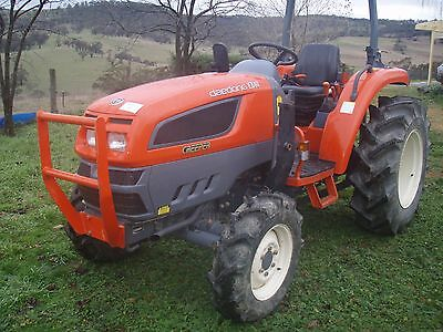 Daedong 40HP 4WD Tractor & Slasher