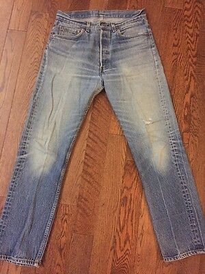 Vintage Made In USA Levi's 501 Denim Jeans - 32 X 31.5