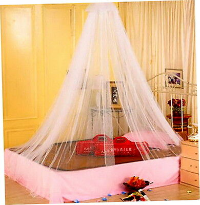 Elegant Round Lace Insect Bed Canopy Netting Curtain Dome Mosquito Net AO