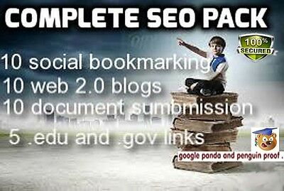 Rank your website and keywords in Google with my latest SEO package