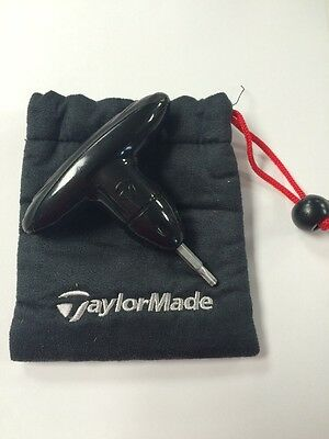 Brand New Black Taylormade Adjustment Wrench Tool with drawstring case