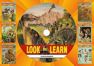 Look & Learn Magazine Collection 1 On Printed Dvd Rom